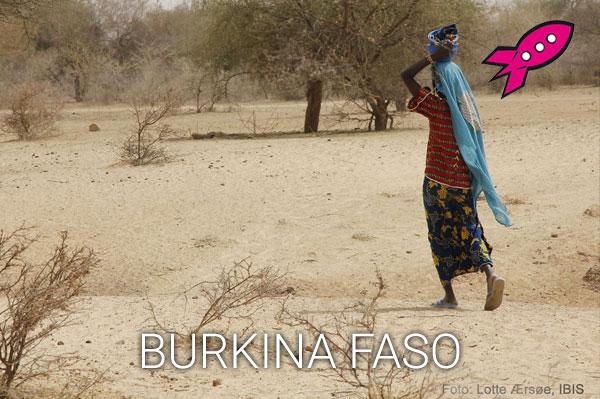 Læseraketten i Burkina Faso