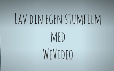 Stumfilm med WeVideo