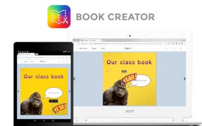 Kom lad os skrive sammen – Real-time kollaboration i Book Creator