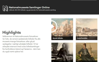 Nationalmuseet og Skoletube er forbundne