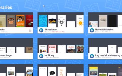 Nyt layout giver dig bedre overblik i Book Creator