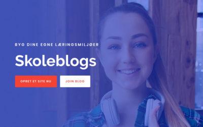 Skoleblogs – ny editor og nyt layout
