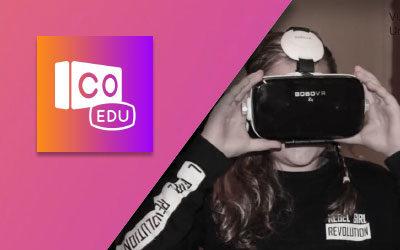 Lyrik i VR & AR med CoSpaces