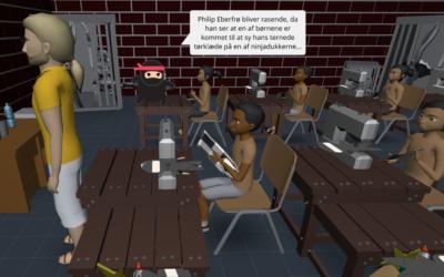 3D-fortællinger med Cospaces